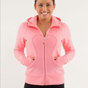 Lululemon Scuba Jacket pink
